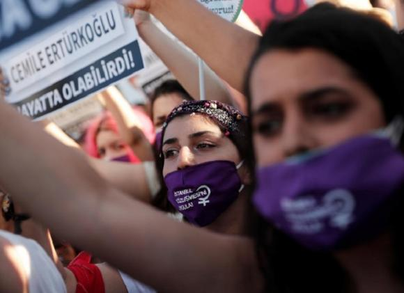 Turkey considering quitting treaty on violence against women: ruling party